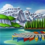 Canoe Rainbow