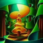 Golden Spruce Illuminated
