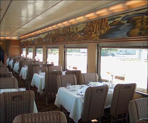 Whistler Northwind Dining Car