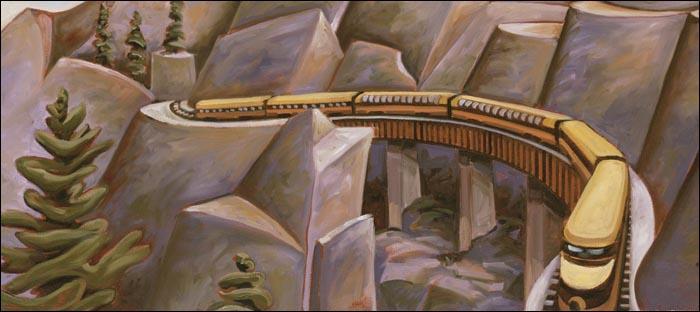 Whistler Northwind Dining Car (detail)