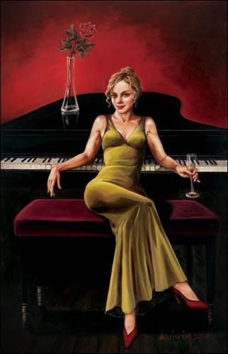 Piano Girl 2